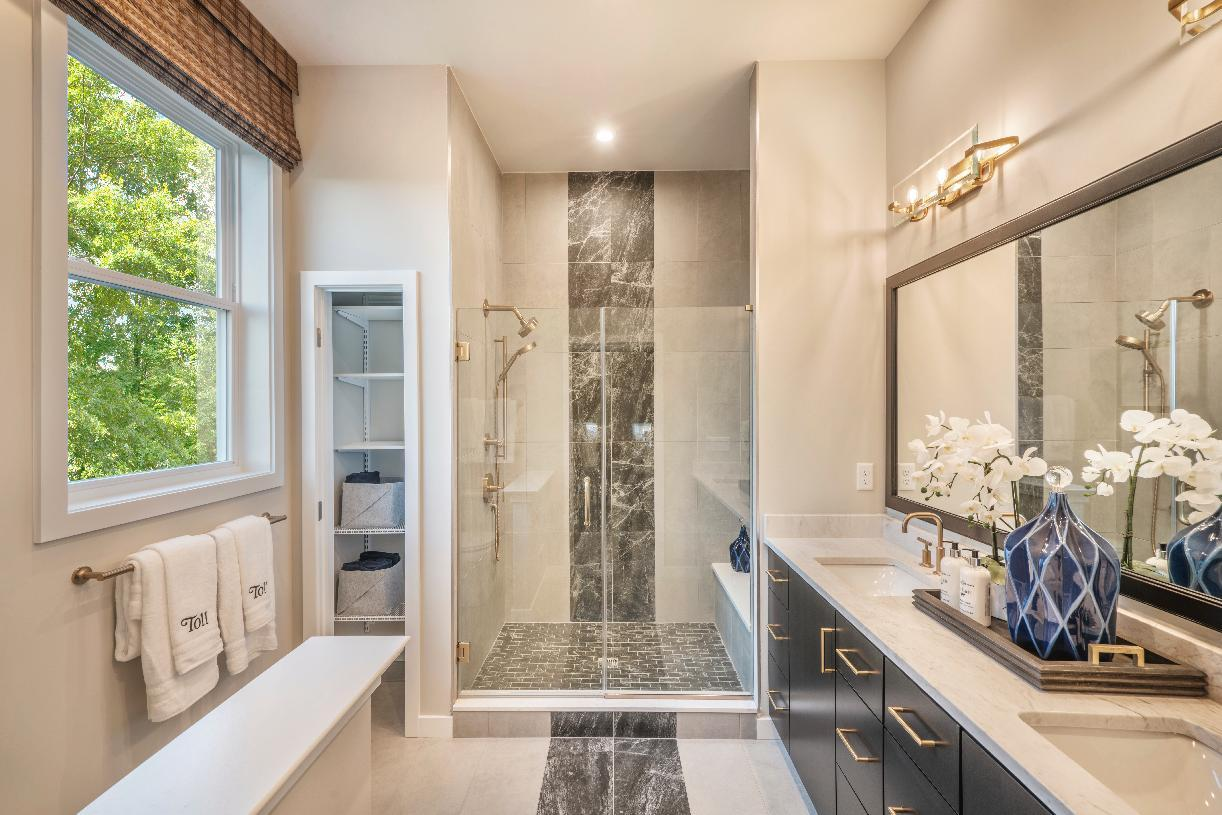 Bathroom featured in the Blenheim By Toll Brothers in Philadelphia, PA