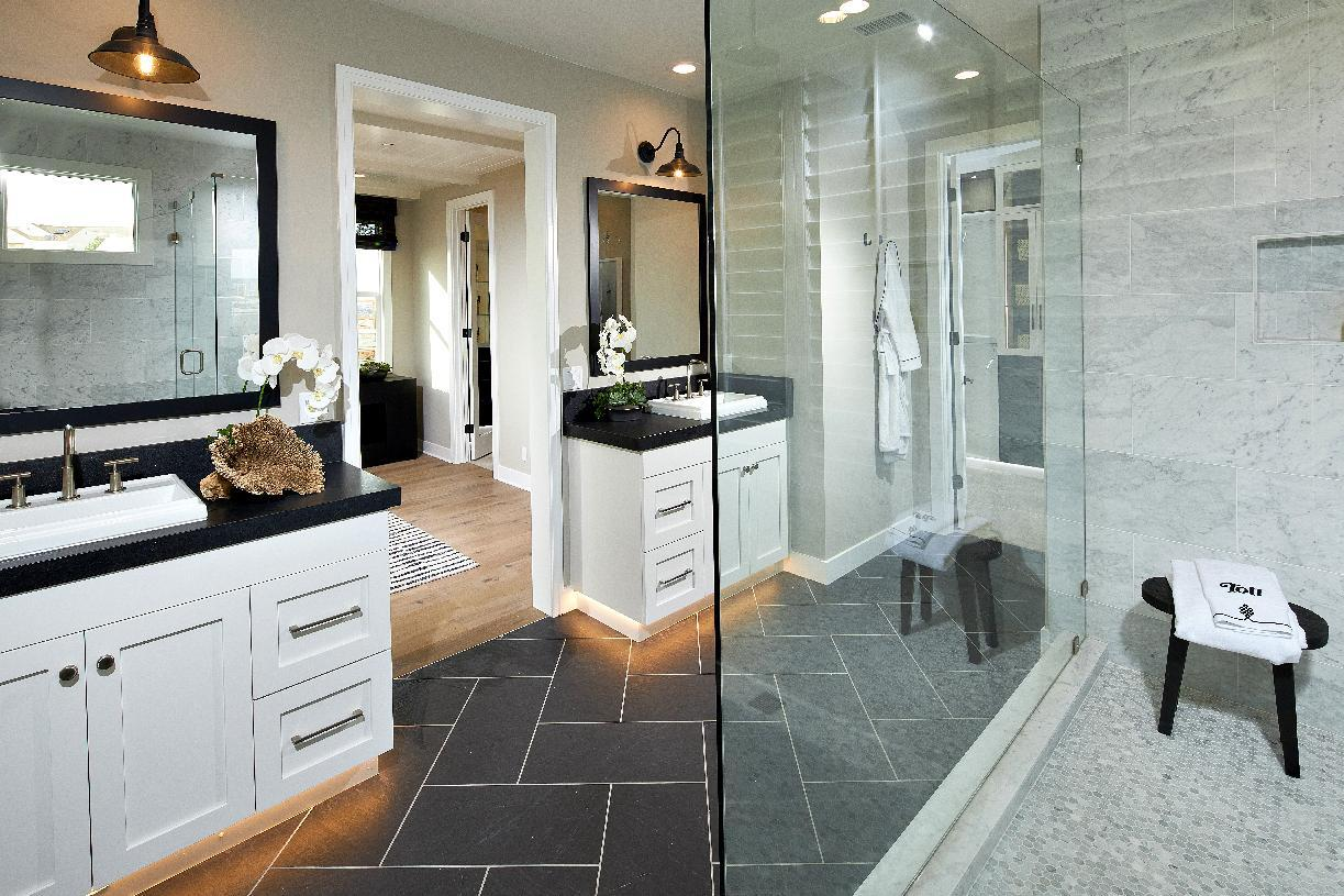 Bathroom featured in the Tidewater By Toll Brothers in Orange County, CA