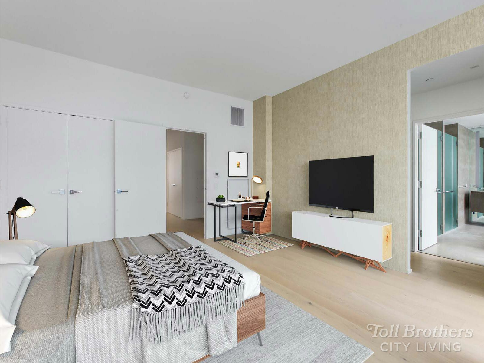 Bedroom featured in the S201 By Toll Brothers in New York, NY