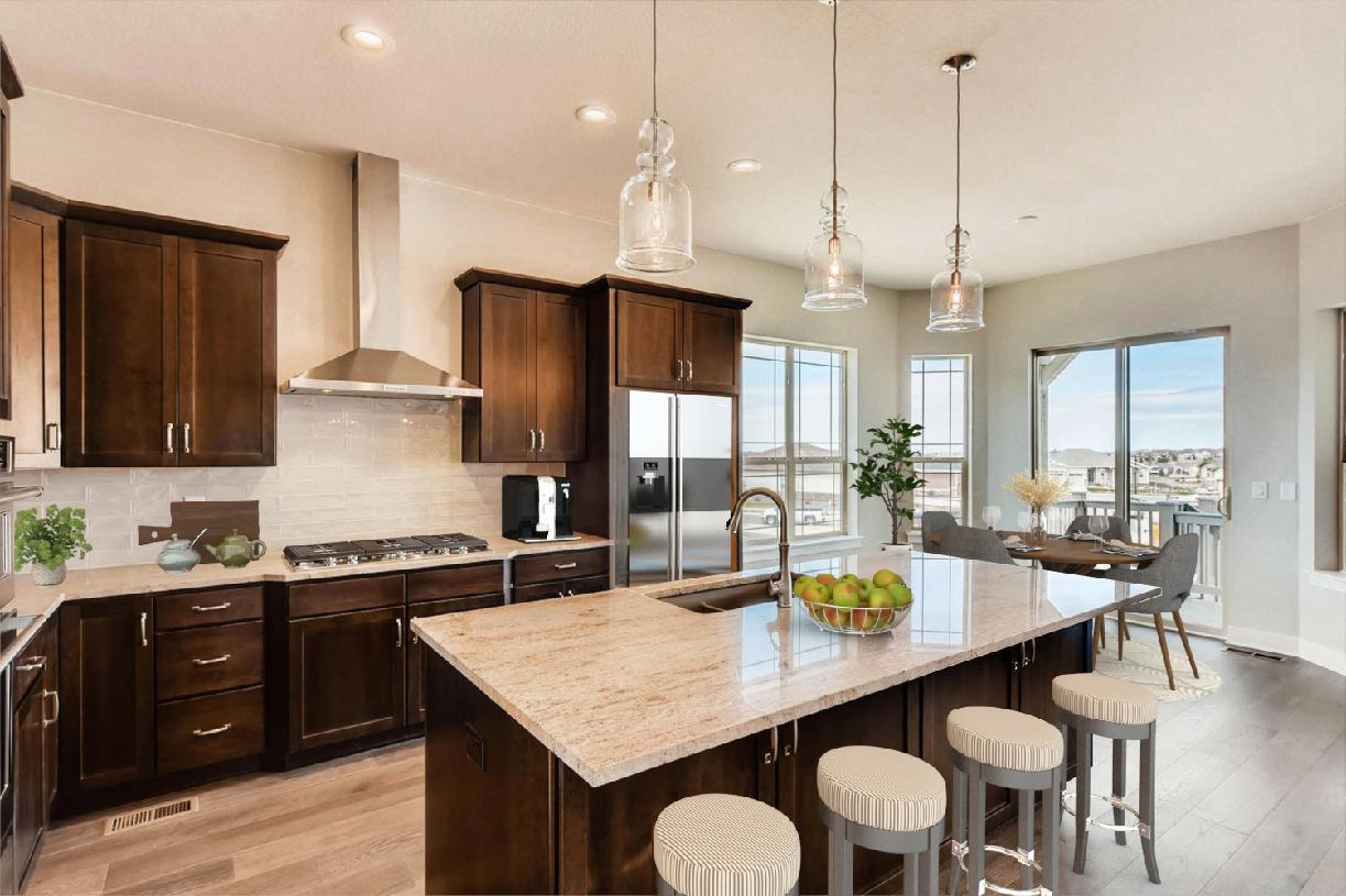 Kitchen featured in the Pendleton By Toll Brothers in Denver, CO