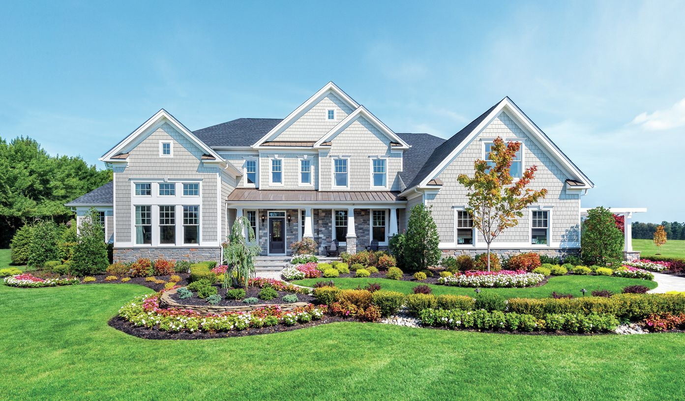 Exterior featured in the Hampton By Toll Brothers in Bergen County, NJ