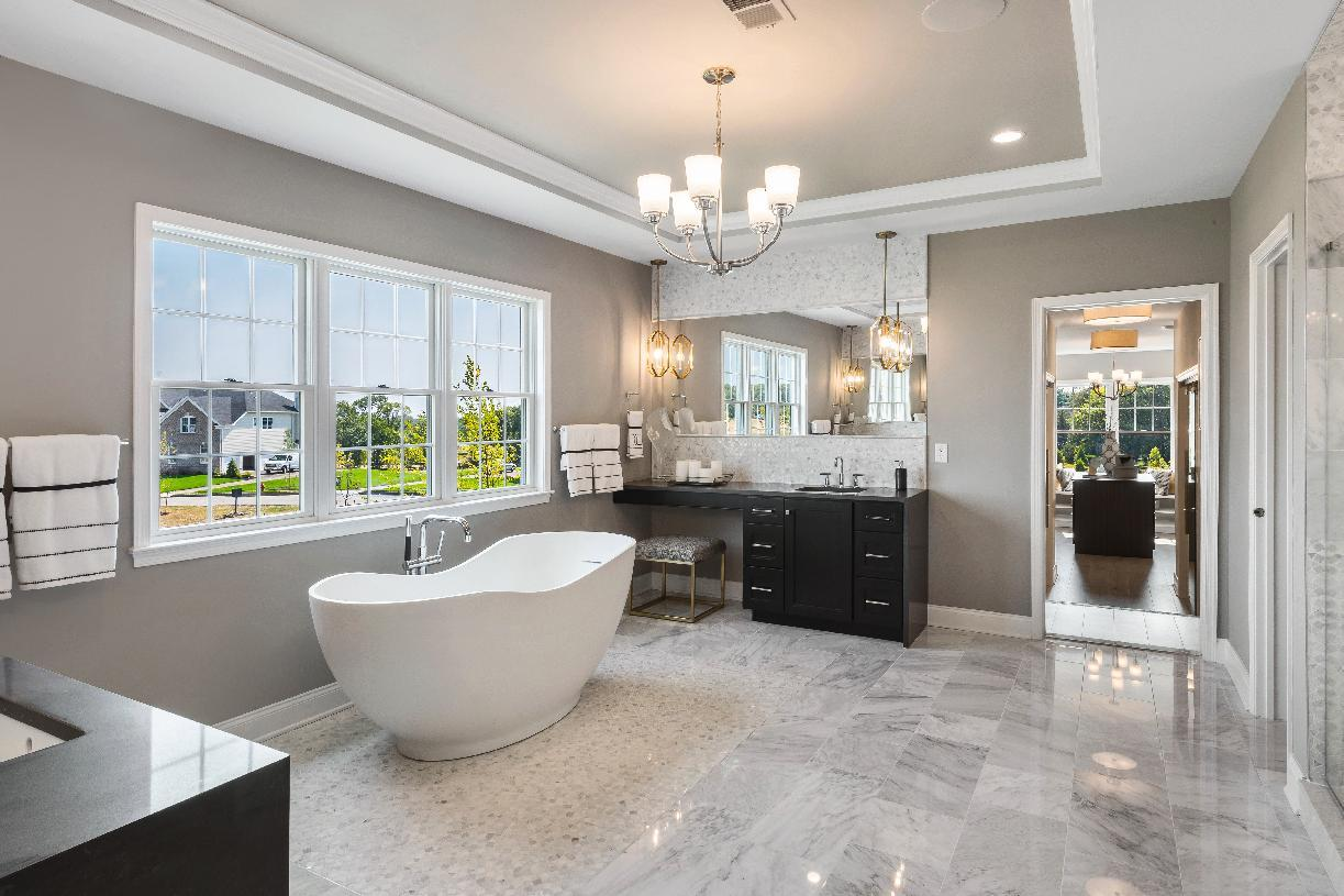 Bathroom featured in the Hampton By Toll Brothers in Bergen County, NJ