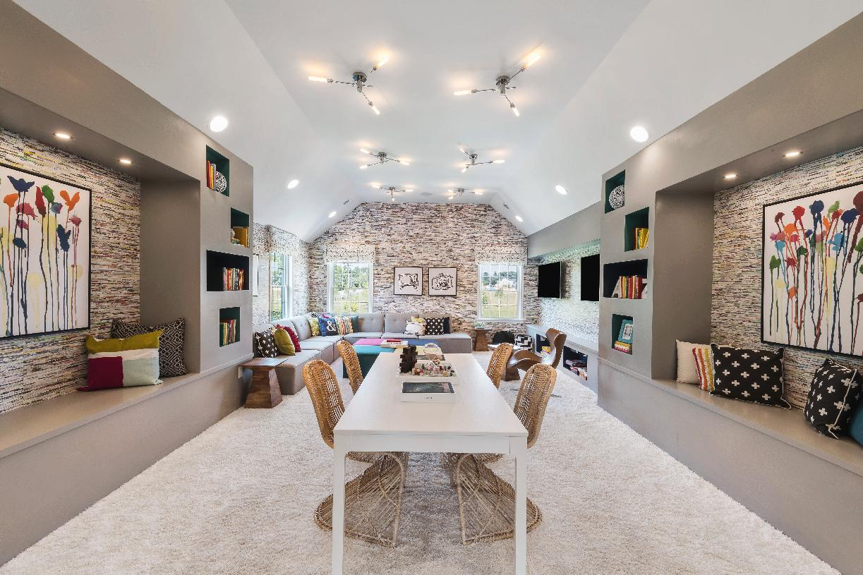 Living Area featured in the Hampton By Toll Brothers in Bergen County, NJ