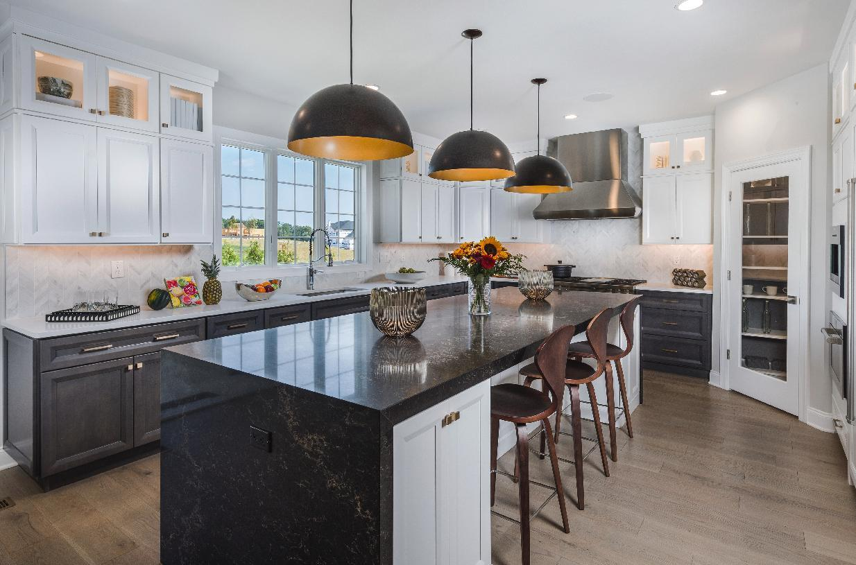 Kitchen featured in the Hampton By Toll Brothers in Bergen County, NJ