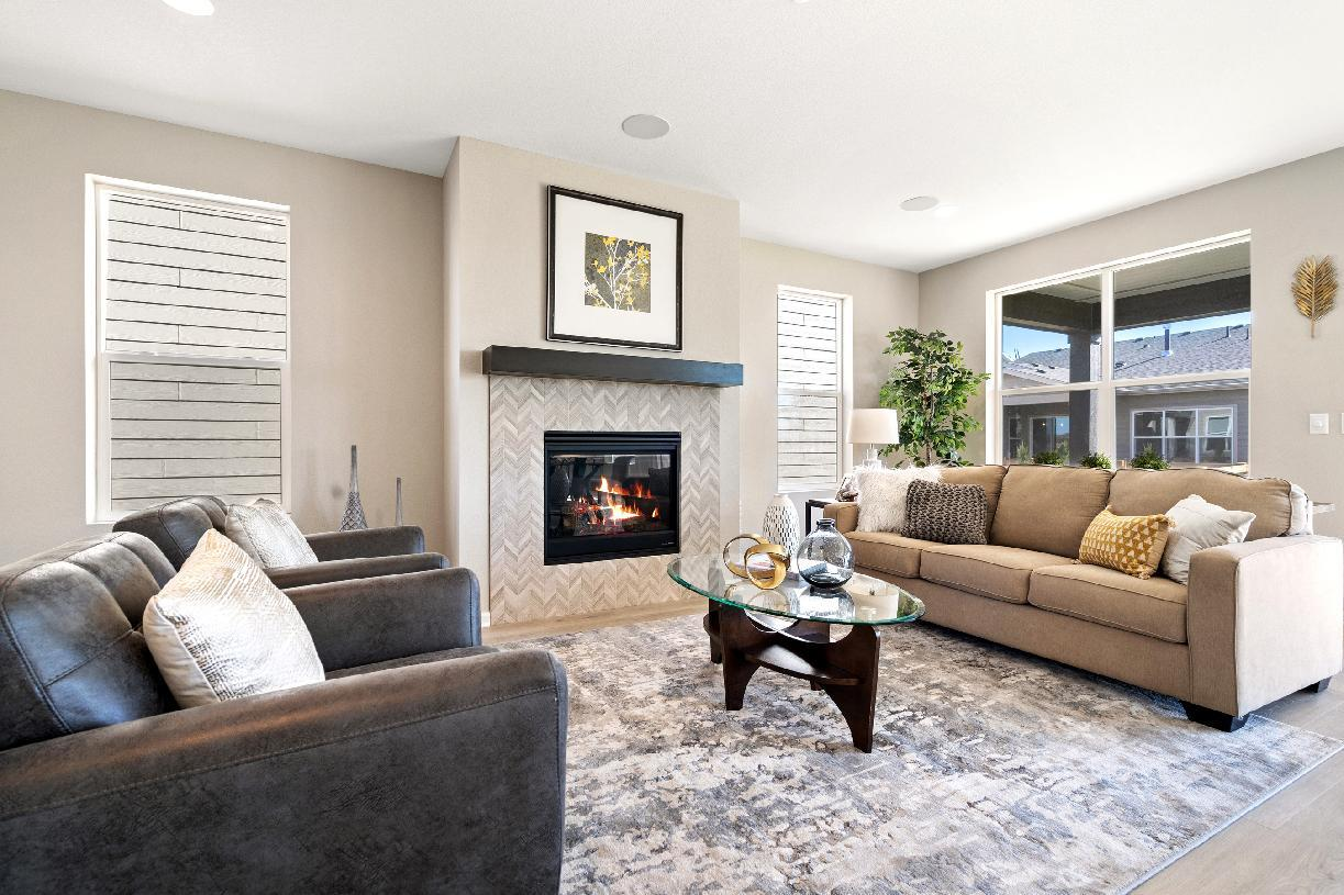 Living Area featured in the Harvey By Toll Brothers in Fort Collins-Loveland, CO