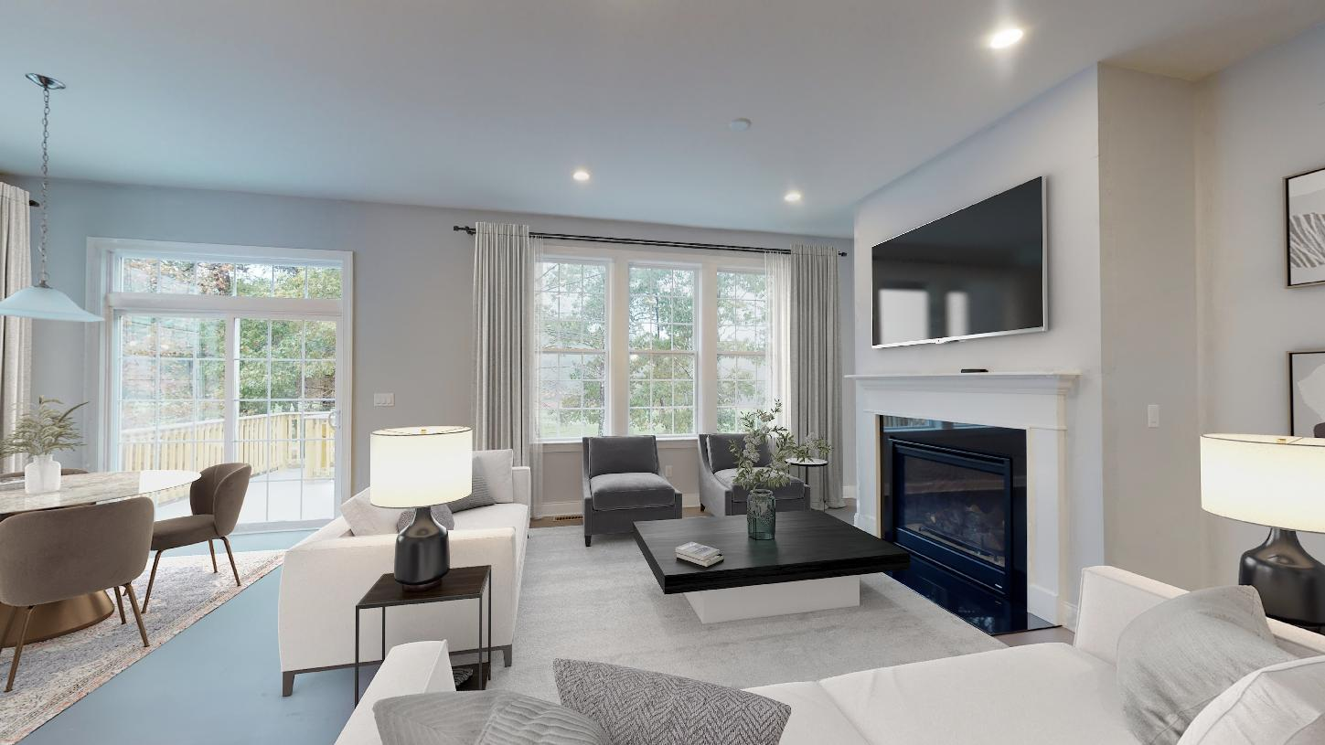 Living Area featured in the Binghamton Eastern Shore By Toll Brothers in Boston, MA