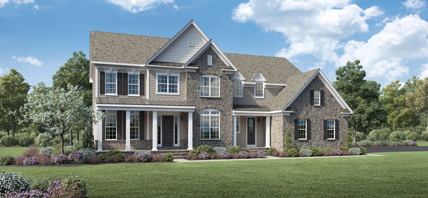 Exterior featured in the Cushing By Toll Brothers in Boston, MA