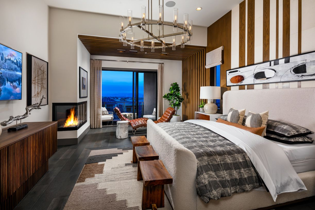 Bedroom featured in the Knoll By Toll Brothers in Las Vegas, NV