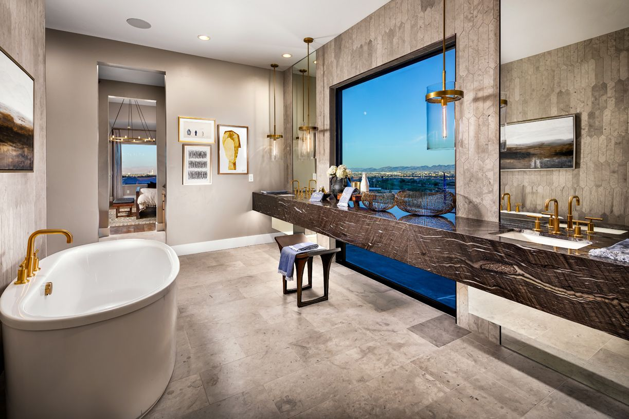 Living Area featured in the White Rock By Toll Brothers in Las Vegas, NV