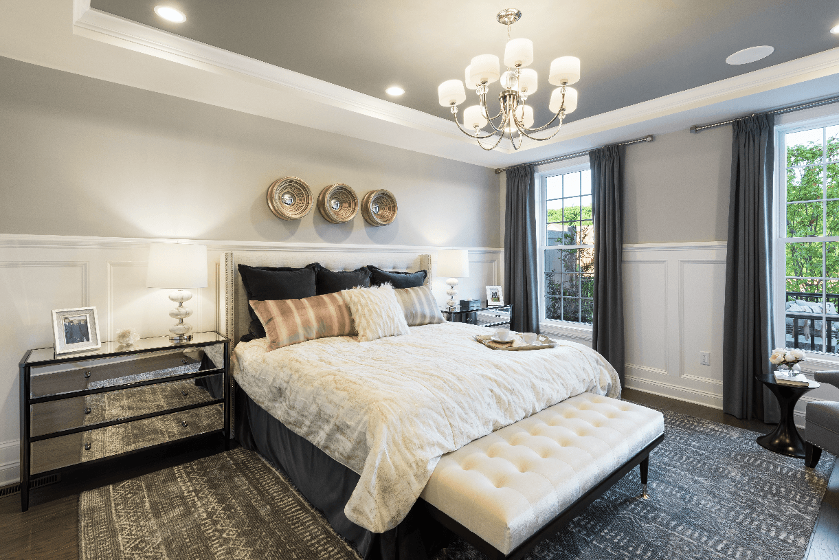 Bedroom featured in the Blair By Toll Brothers in Monmouth County, NJ
