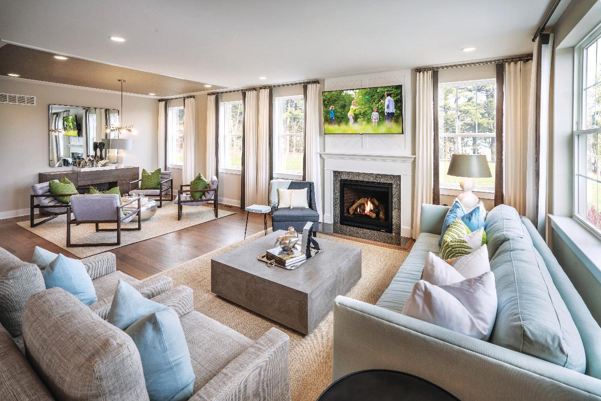 Living Area featured in the Merion By Toll Brothers in Philadelphia, PA