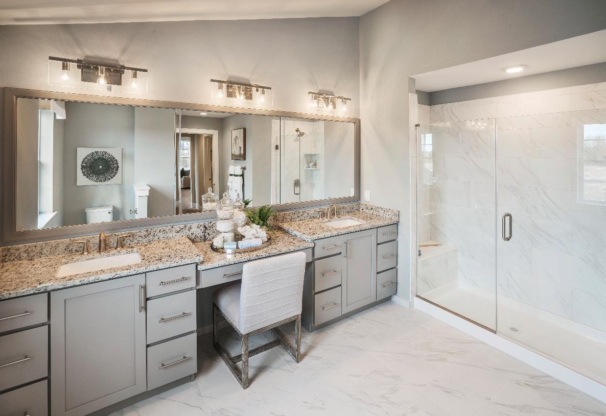 Bathroom featured in the Merion By Toll Brothers in Philadelphia, PA