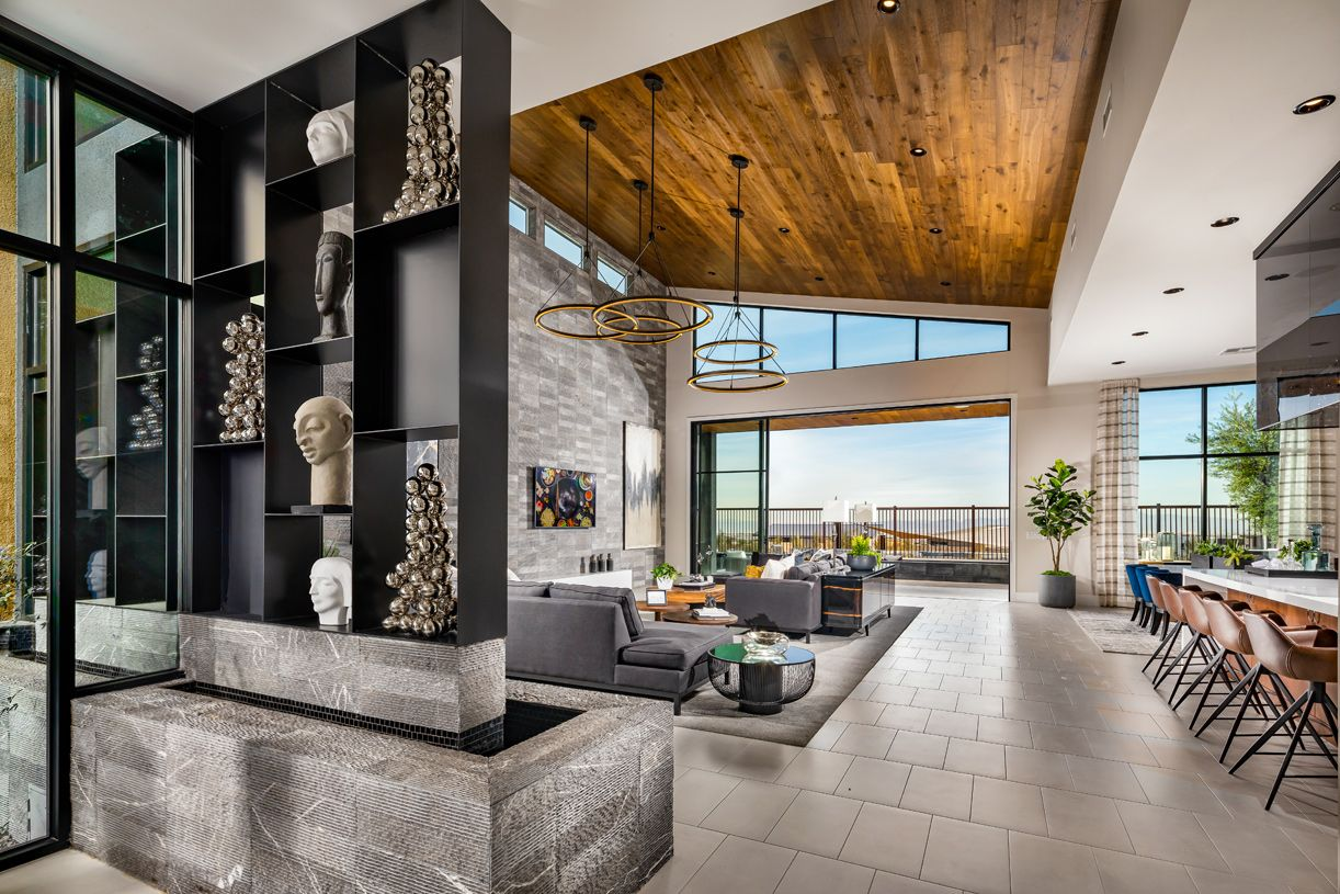 Living Area featured in the Cascade By Toll Brothers in Las Vegas, NV