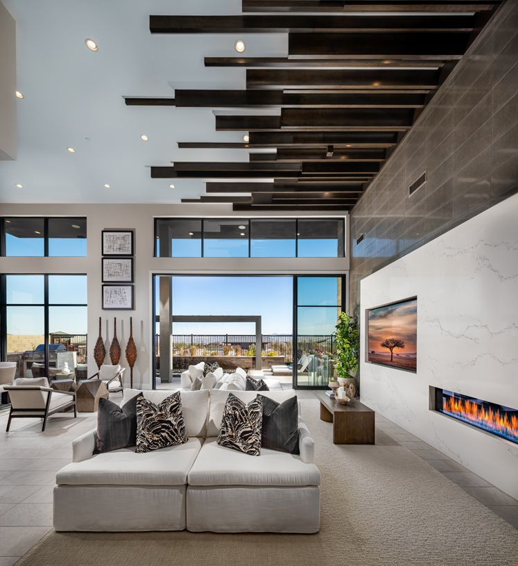 Living Area featured in the North By Toll Brothers in Las Vegas, NV