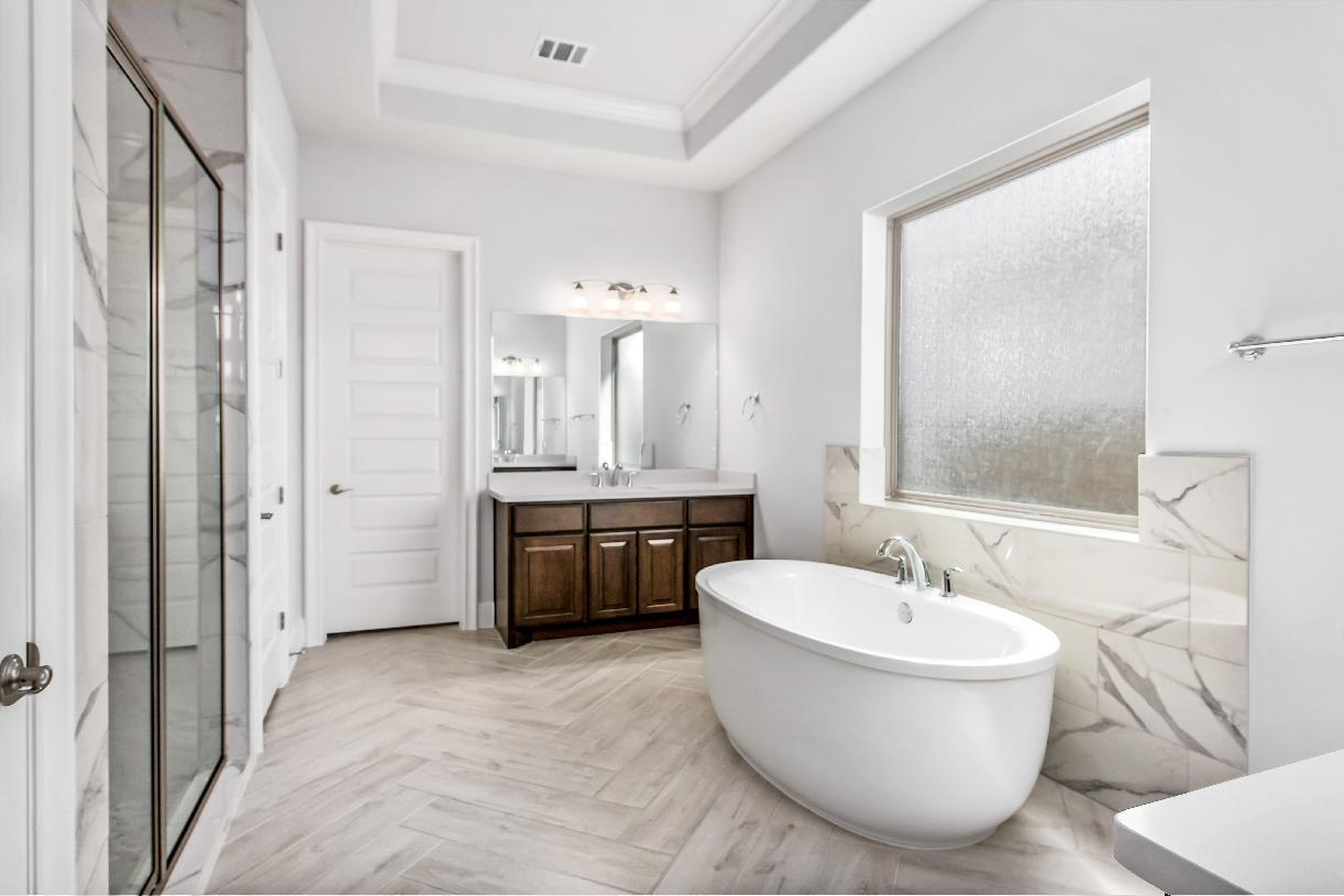 Bathroom featured in the Emery By Toll Brothers in Houston, TX