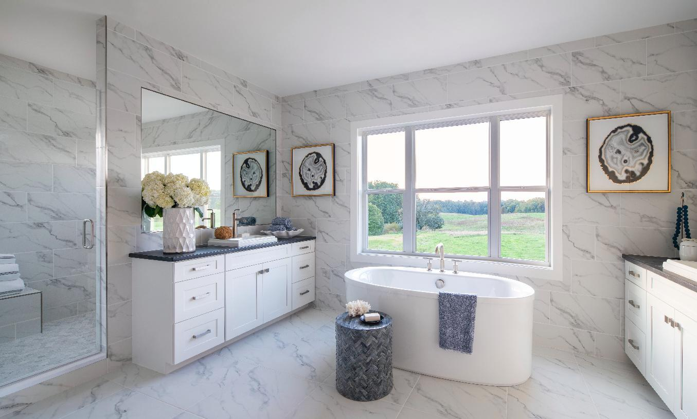Bathroom featured in the Patterson By Toll Brothers in Washington, MD