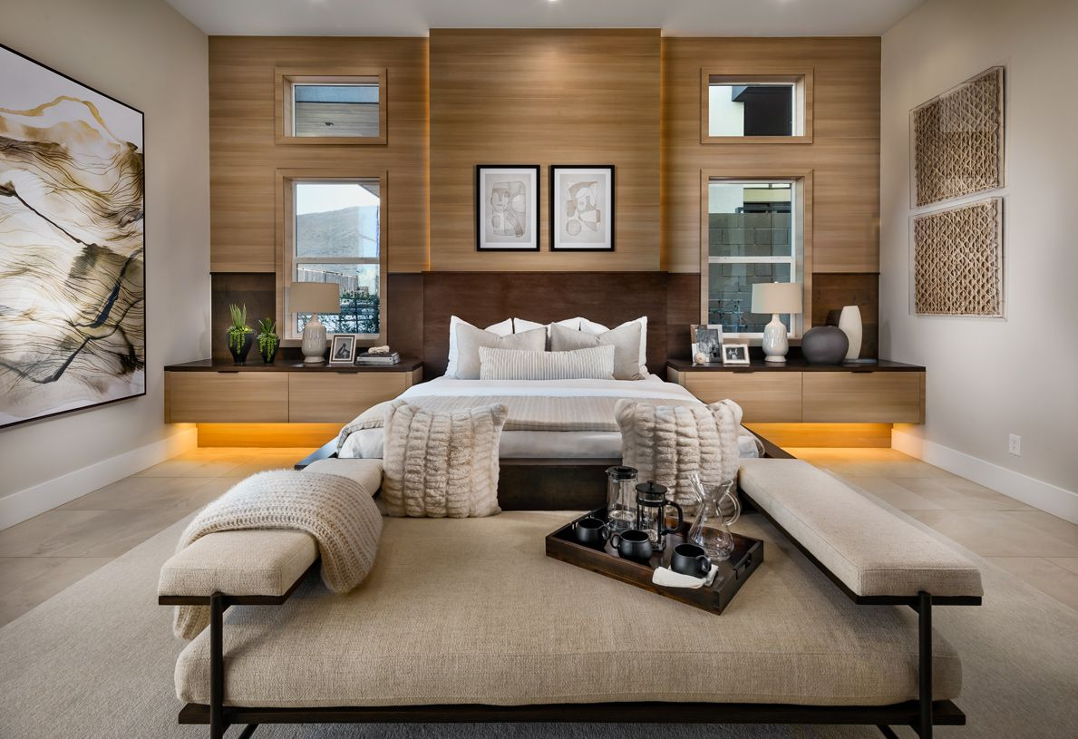 Bedroom featured in the North By Toll Brothers in Las Vegas, NV