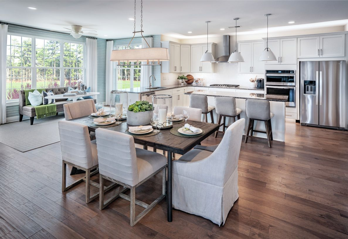 Kitchen featured in the Mapleton By Toll Brothers in Chicago, IL