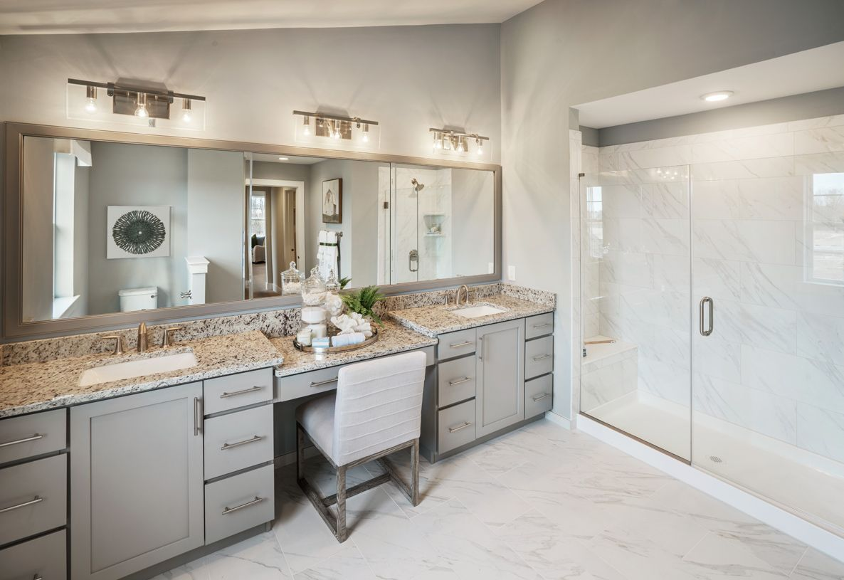 Bathroom featured in the Mapleton By Toll Brothers in Chicago, IL