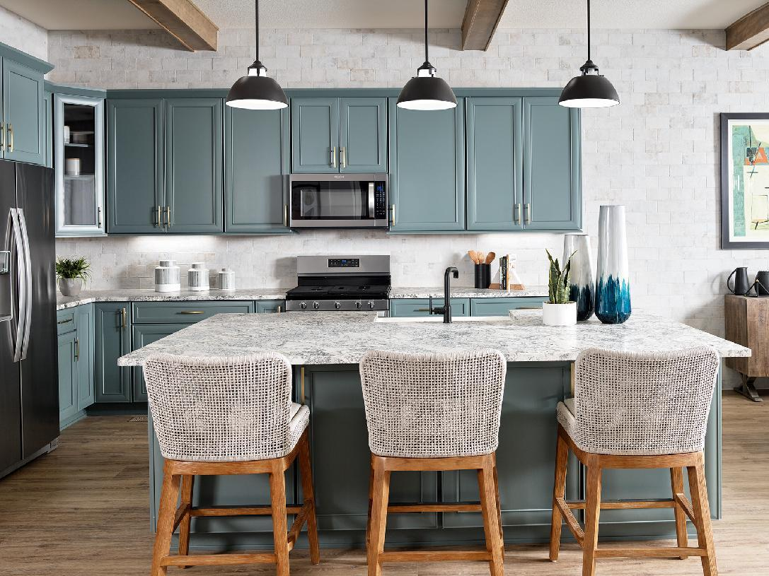 Kitchen featured in the Boyd By Toll Brothers in Denver, CO