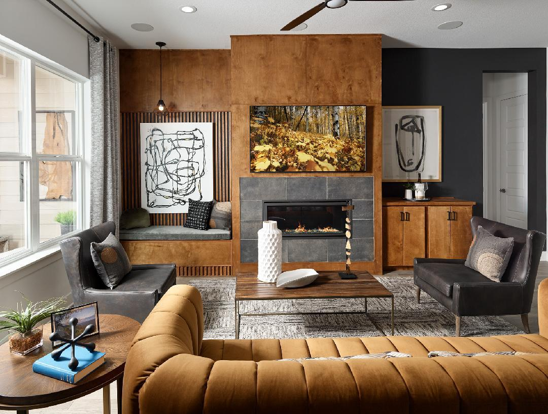 Living Area featured in the Whitley By Toll Brothers in Fort Collins-Loveland, CO