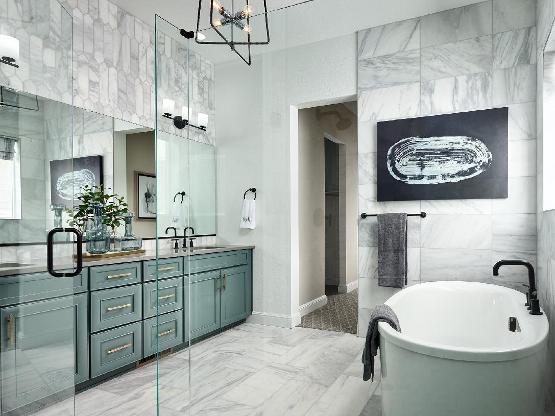 Bathroom featured in the Boyd By Toll Brothers in Denver, CO