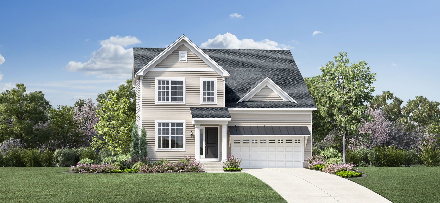 Exterior featured in the Dunlap By Toll Brothers in Chicago, IL