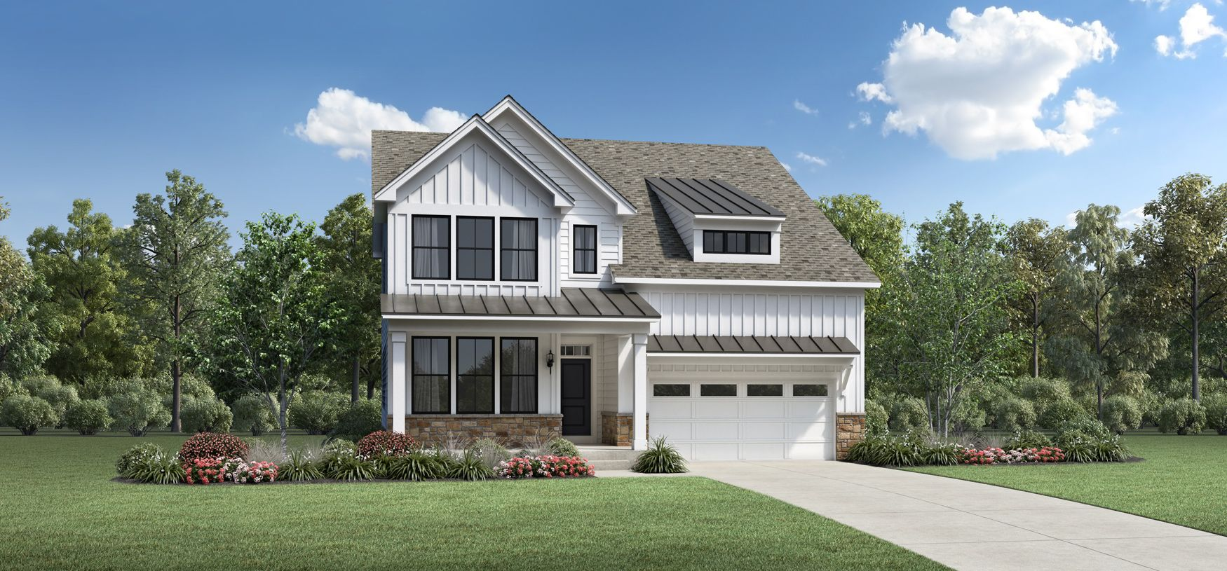 Exterior featured in the Mapleton By Toll Brothers in Chicago, IL