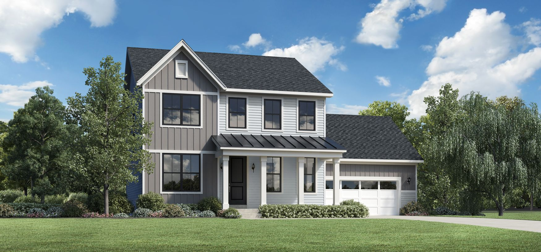 Exterior featured in the Pryor By Toll Brothers in Chicago, IL