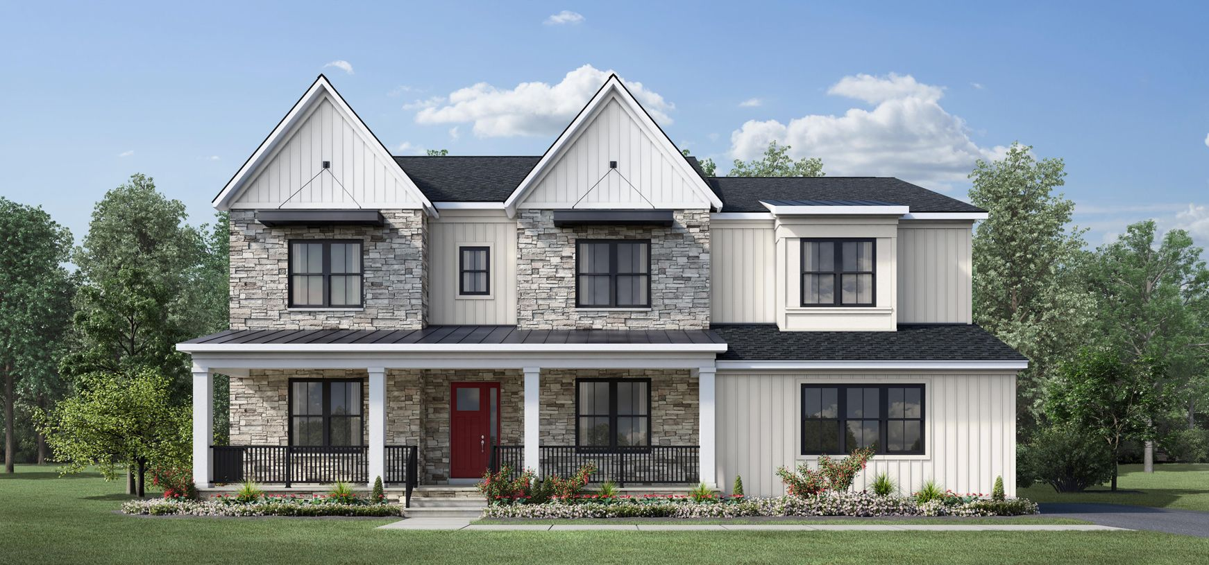 Exterior featured in the Parkhurst By Toll Brothers in Baltimore, MD