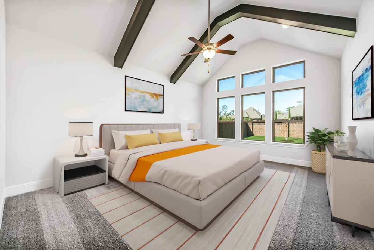 Bedroom featured in the Emery By Toll Brothers in Houston, TX