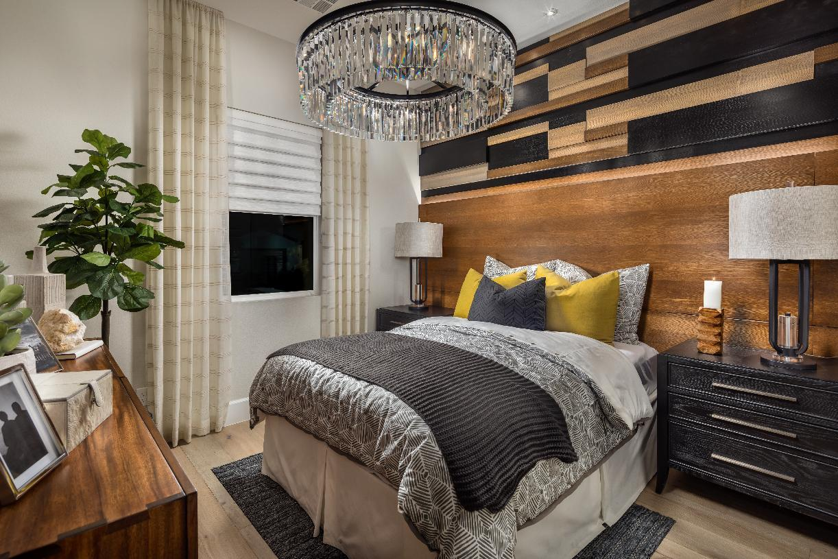 Bedroom featured in the Prato By Toll Brothers in Las Vegas, NV