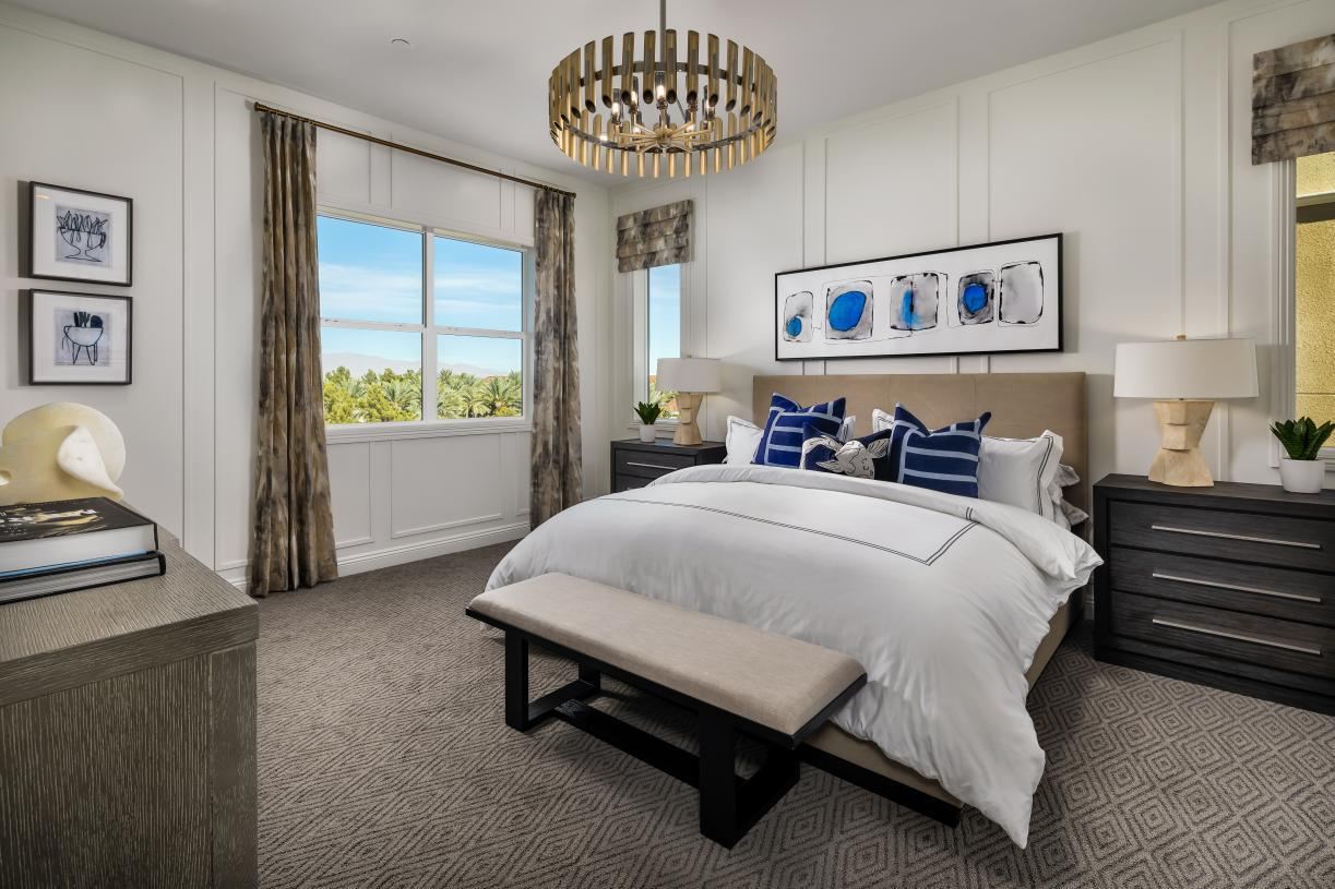 Bedroom featured in the Brenta By Toll Brothers in Las Vegas, NV