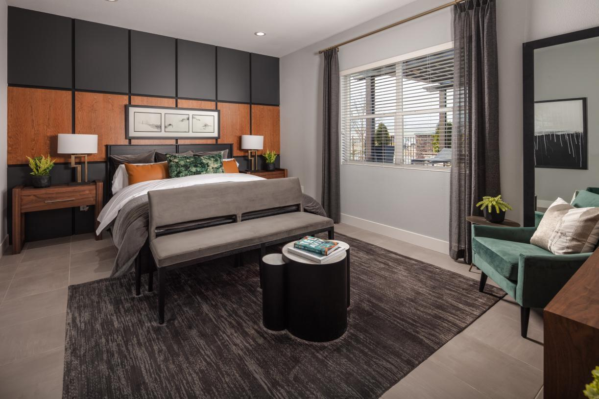 Bedroom featured in the Belvior By Toll Brothers in Reno, NV