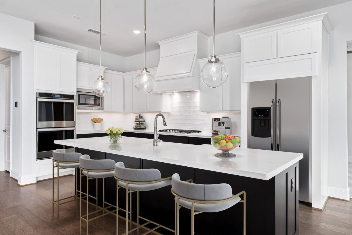 Kitchen featured in the Fairholm By Toll Brothers in Houston, TX