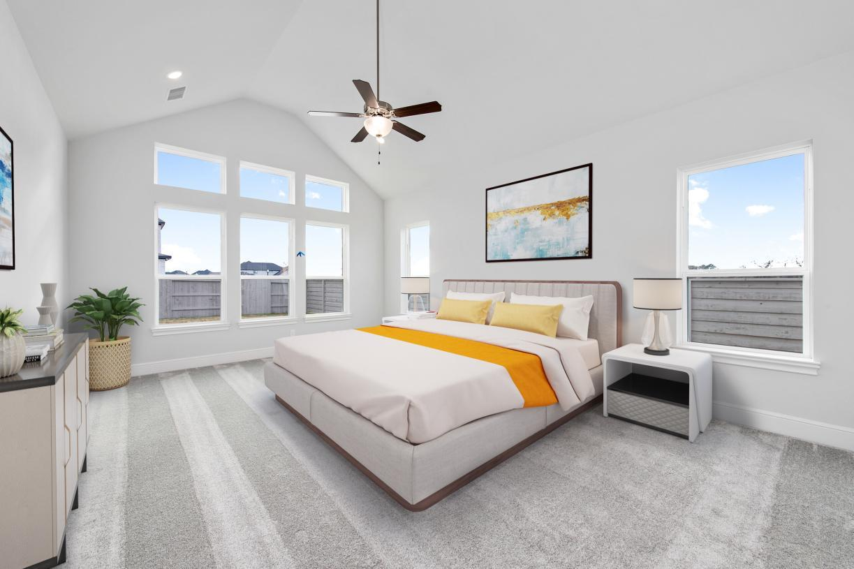 Bedroom featured in the Fairholm By Toll Brothers in Houston, TX