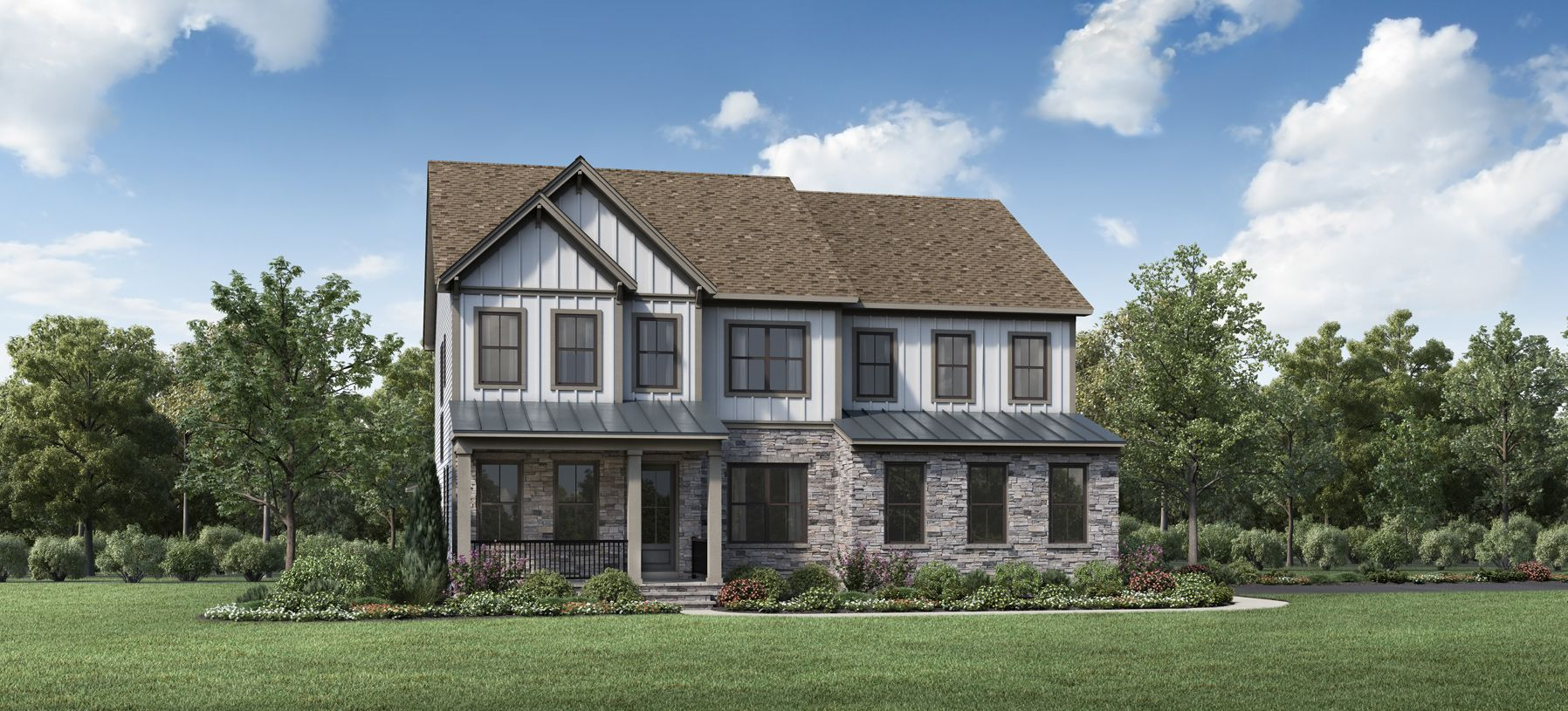 Exterior featured in the Richardson By Toll Brothers in Washington, VA