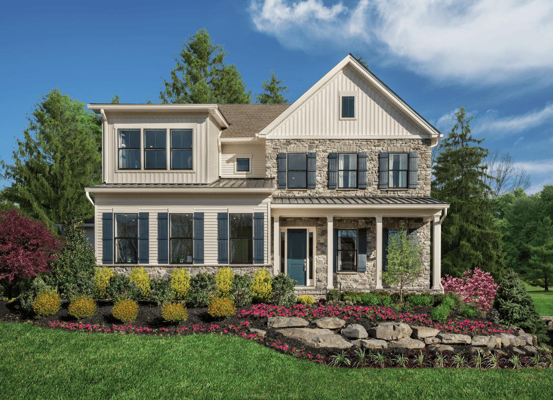 Exterior featured in the Elverson By Toll Brothers in Philadelphia, PA