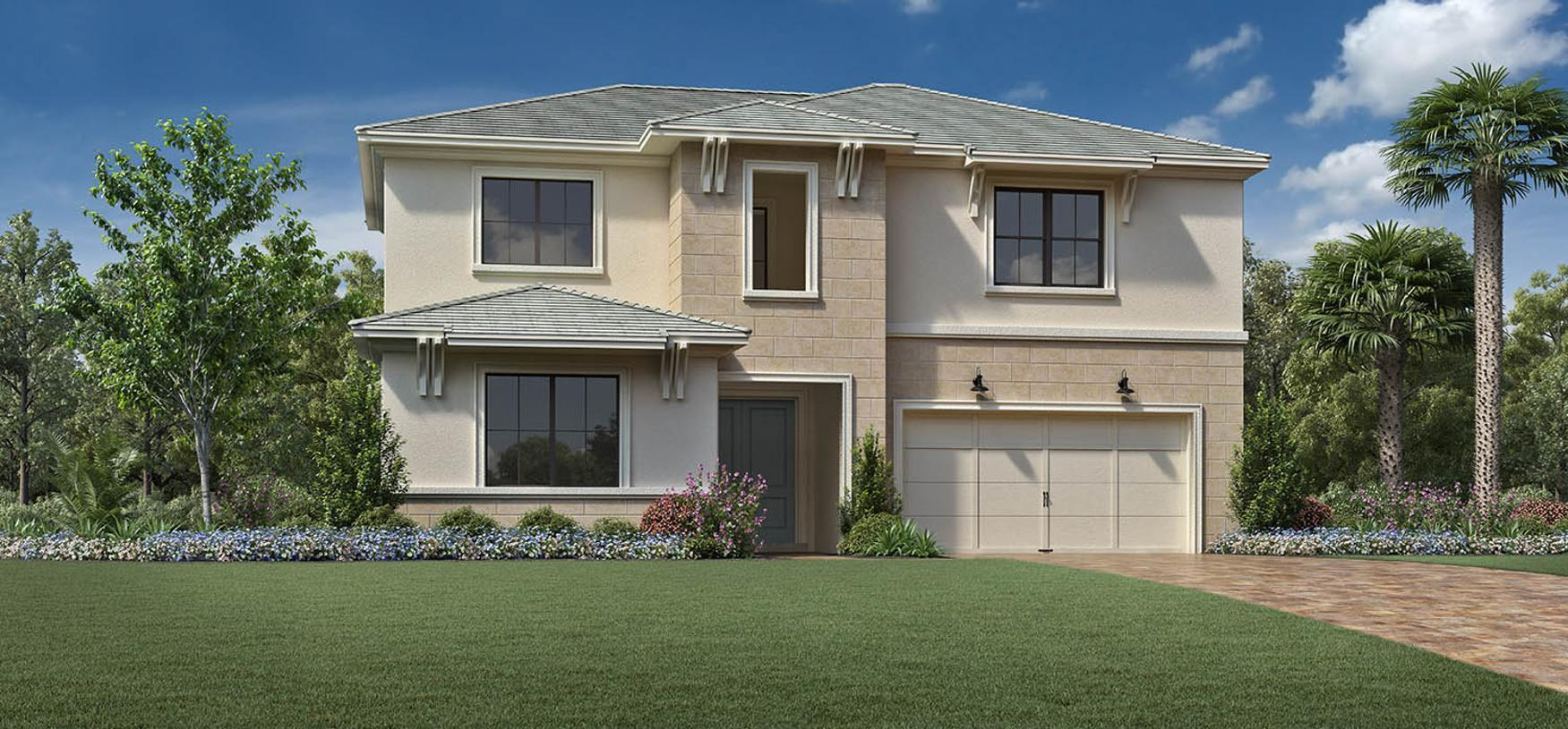 Exterior featured in the Santangelo By Toll Brothers in Broward County-Ft. Lauderdale, FL