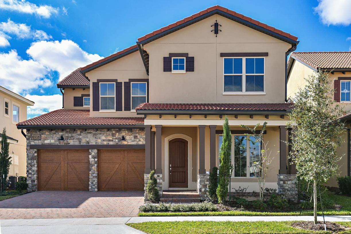 Exterior featured in the Gardenia By Toll Brothers in Orlando, FL