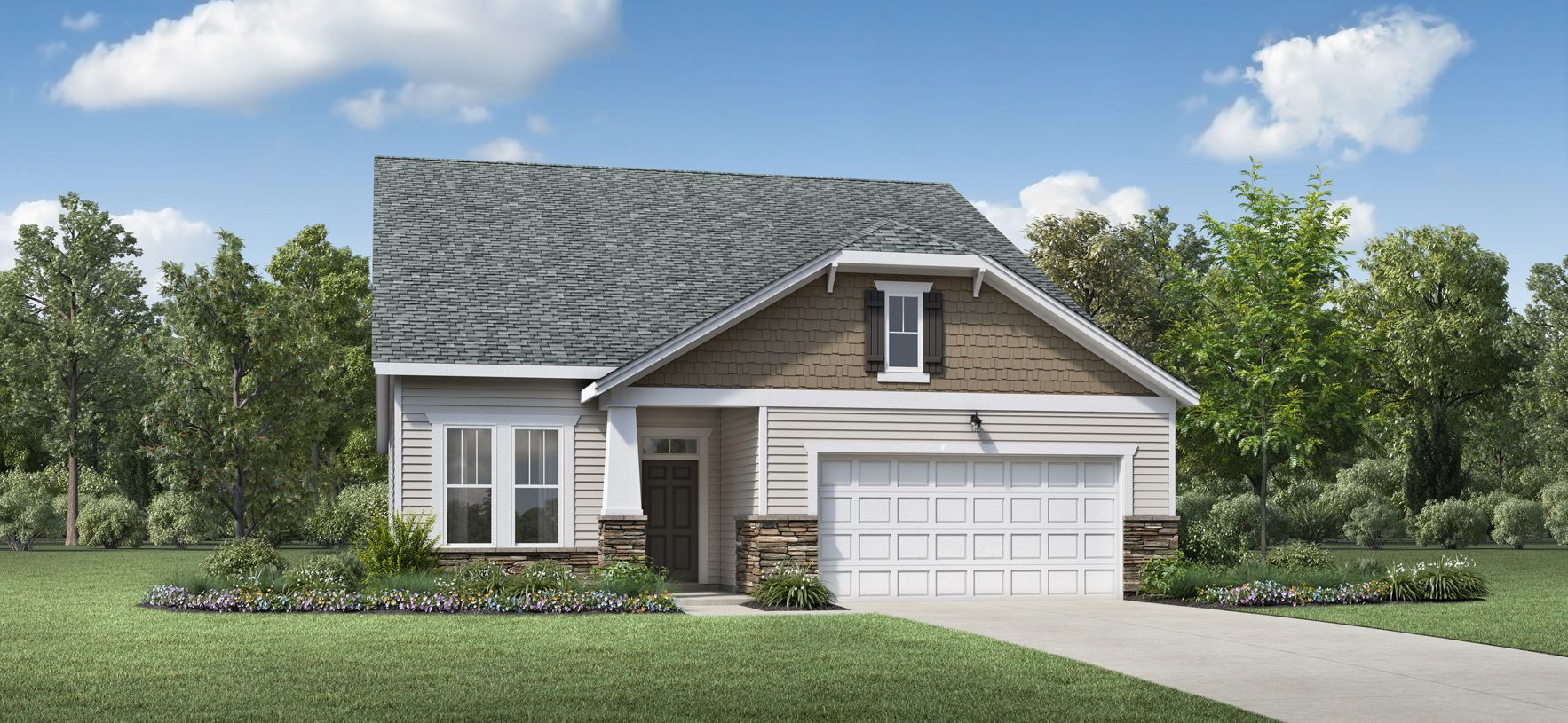 Exterior featured in the Vogal Elite By Toll Brothers in Raleigh-Durham-Chapel Hill, NC