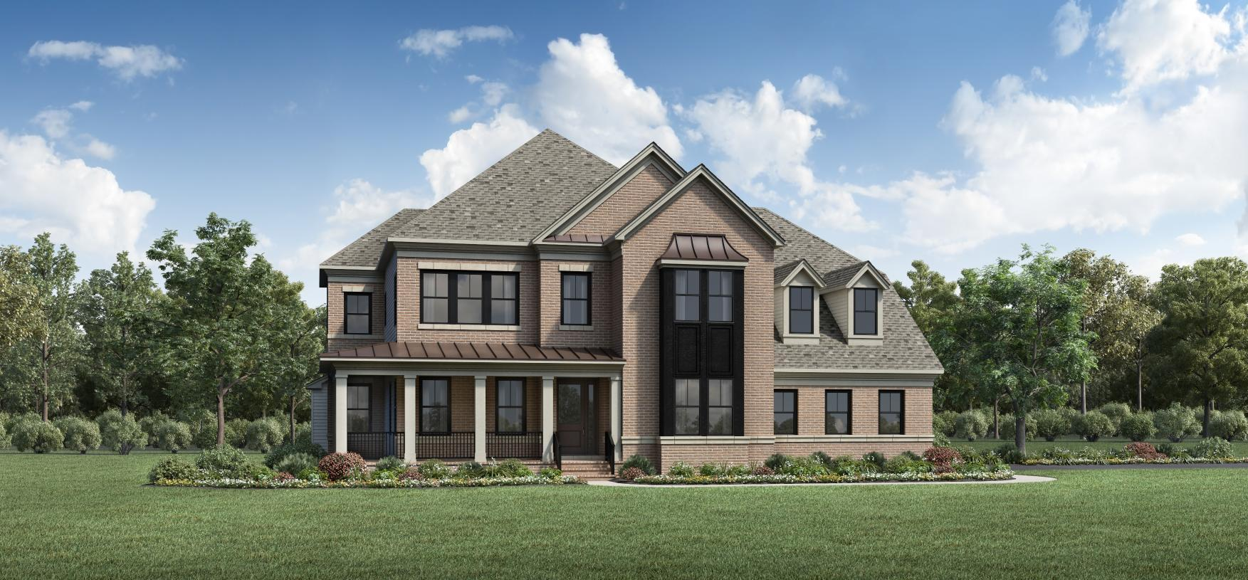 Exterior featured in the Kalorama By Toll Brothers in Washington, VA