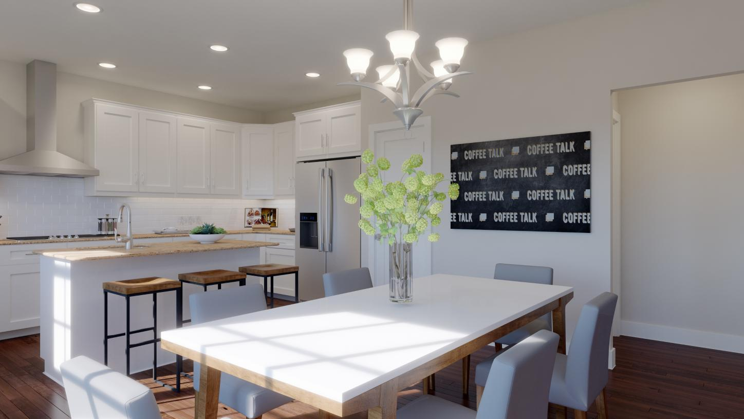 Kitchen featured in the Dunlap By Toll Brothers in Chicago, IL