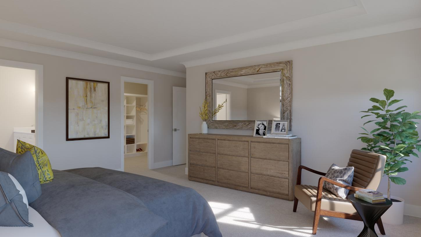 Bedroom featured in the Dunlap By Toll Brothers in Chicago, IL