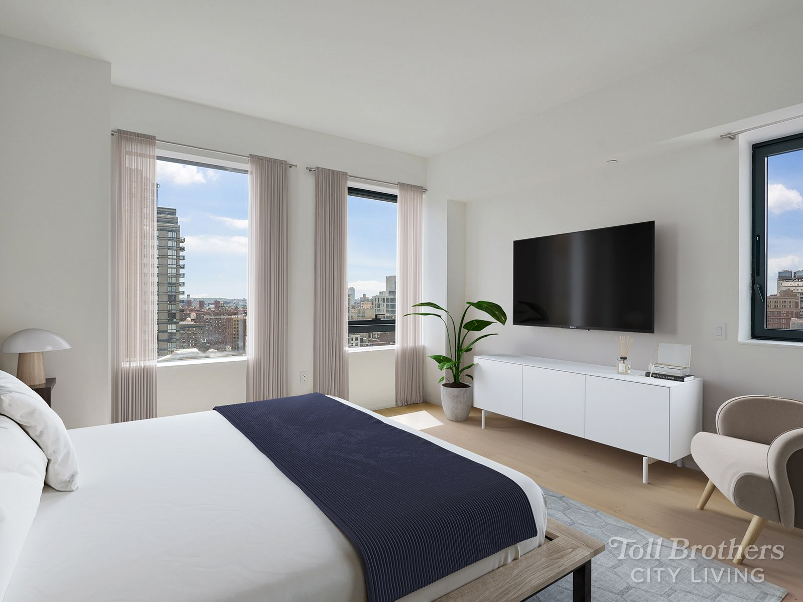 Bedroom featured in the N1605 By Toll Brothers in New York, NY