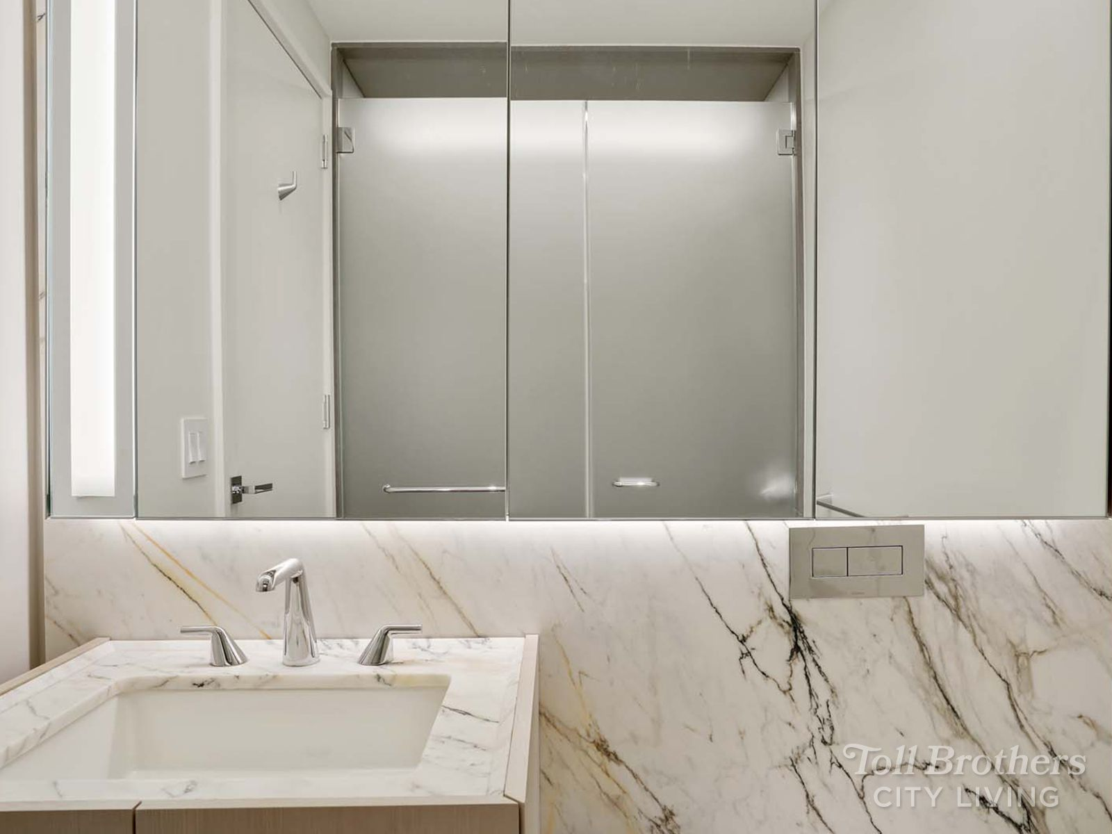 Bathroom featured in the N1605 By Toll Brothers in New York, NY