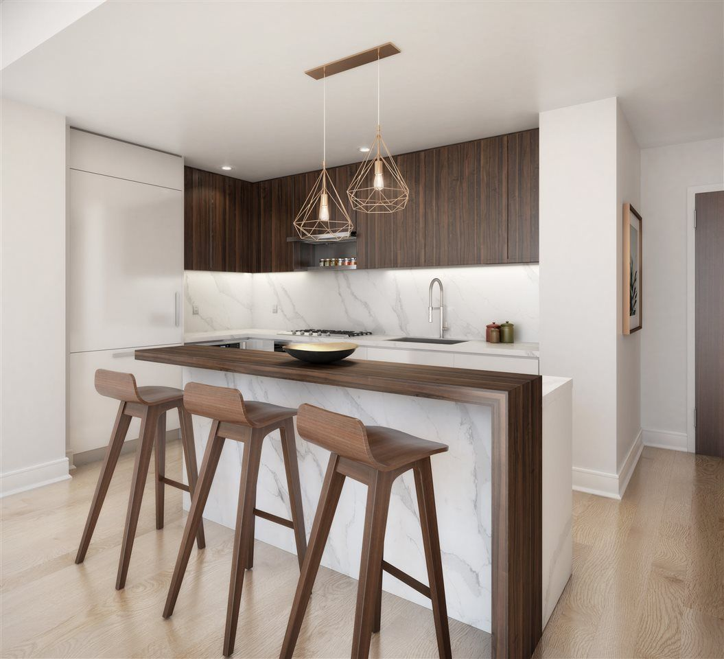 Kitchen featured in the 11D By Toll Brothers in Hudson County, NJ