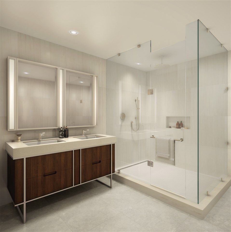 Bathroom featured in the 11D By Toll Brothers in Hudson County, NJ