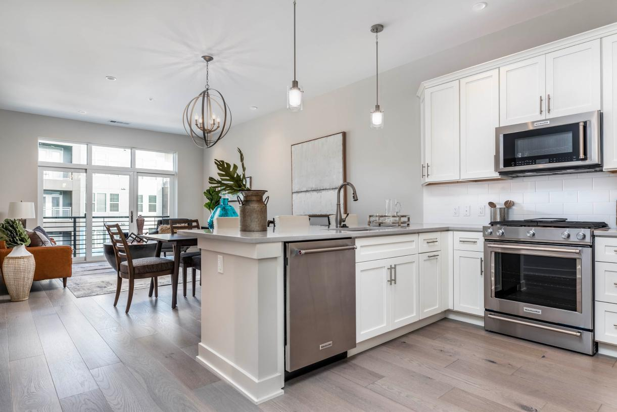 Kitchen featured in the 2A By Toll Brothers in Philadelphia, PA