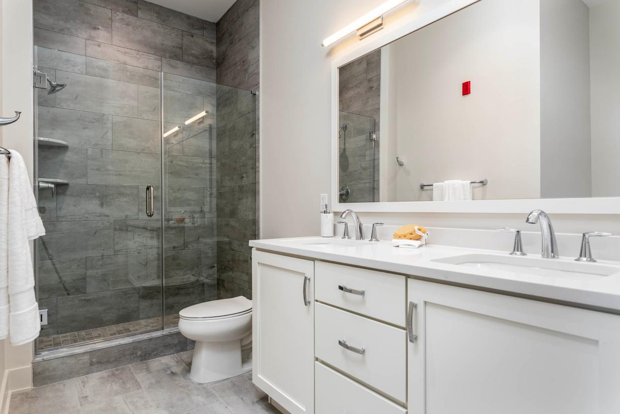 Bathroom featured in the 2A By Toll Brothers in Philadelphia, PA